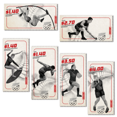 Tokyo 2020 Olympic Games Set of Stamps