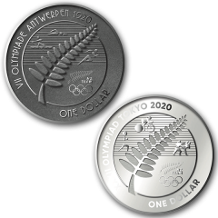 Tokyo 2020 Olympic Games Silver Coin Set