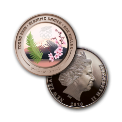 Tokyo 2020 Olympic Games Brilliant Uncirculated Coin